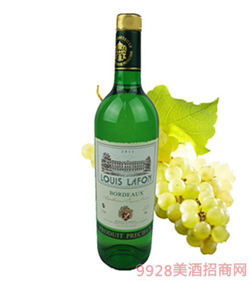法国路易拉菲干白葡萄酒