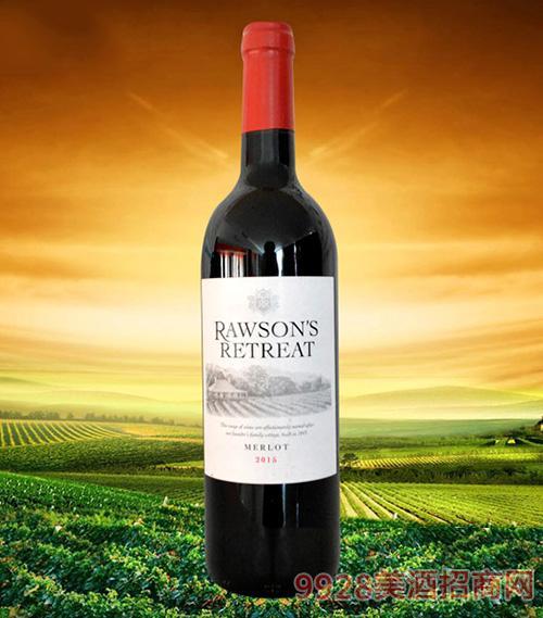 澳大利亚奔富洛神山庄梅洛干红葡萄酒2015