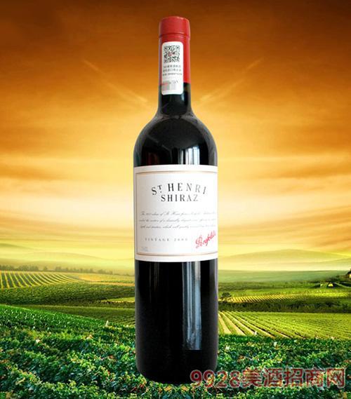 澳大利亚奔富寇兰山设拉子干红葡萄酒2008