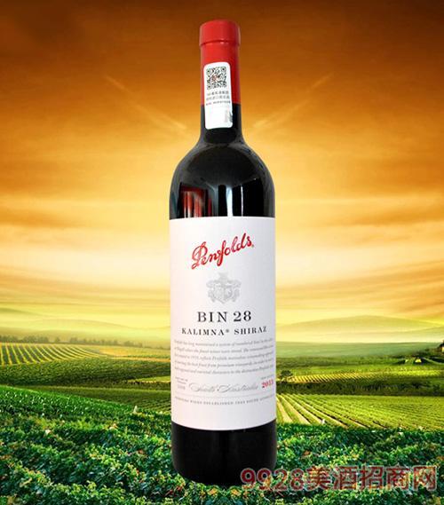 澳大利亚奔富BIN28卡琳娜设拉子干红葡萄酒