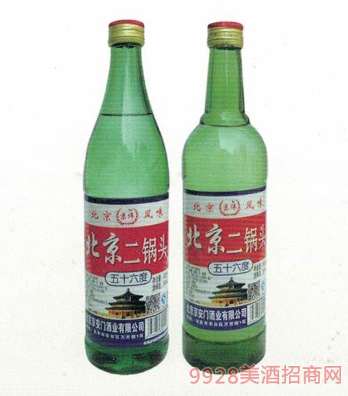 京伟北京二锅头(绿标)56度500ml