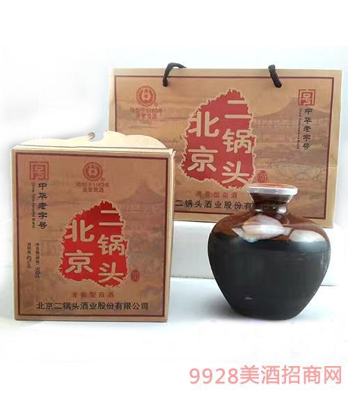 永丰牌北京二锅头酒坛装清香型42度500ml