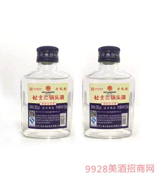 永丰牌北京二锅头酒升级版清香型56度100ml