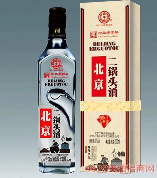 永丰牌北京二锅头酒红钻清香型42度500ml