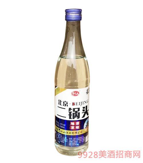 午兰山北京二锅头酒43度500ml