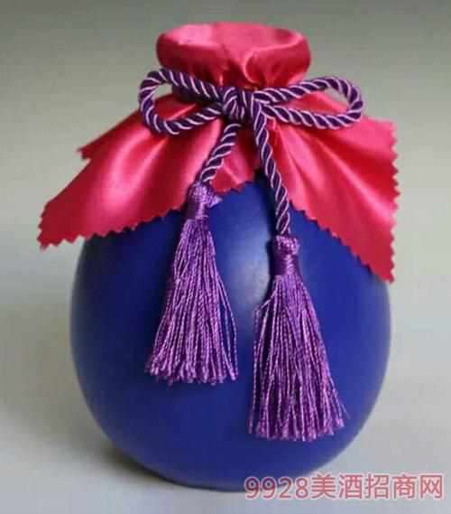 十善芳香原浆坛子酒一斤装(蓝色)