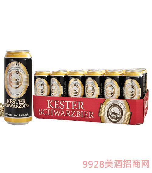 进口凯斯特黑啤