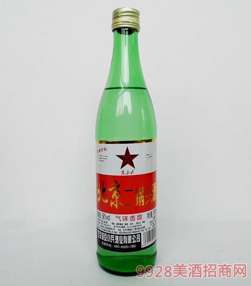 京小兵北京二锅头酒56度500mL绿