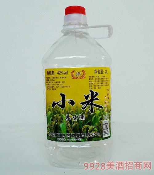 京泰小米养生酒42度2L
