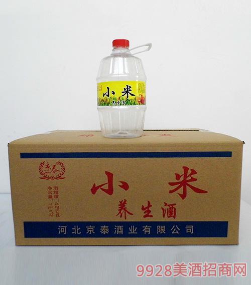 京泰小米养生酒42度1Lx12箱装