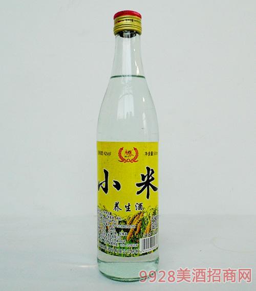 京泰小米养生酒42度500ml