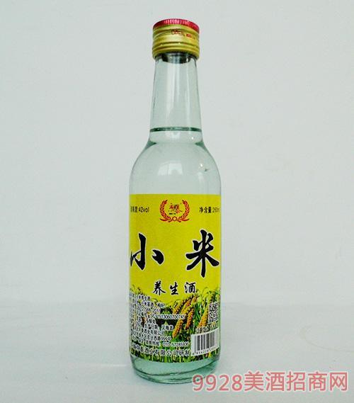 京泰小米养生酒42度260ml
