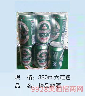 047.精品啤酒320ml*6