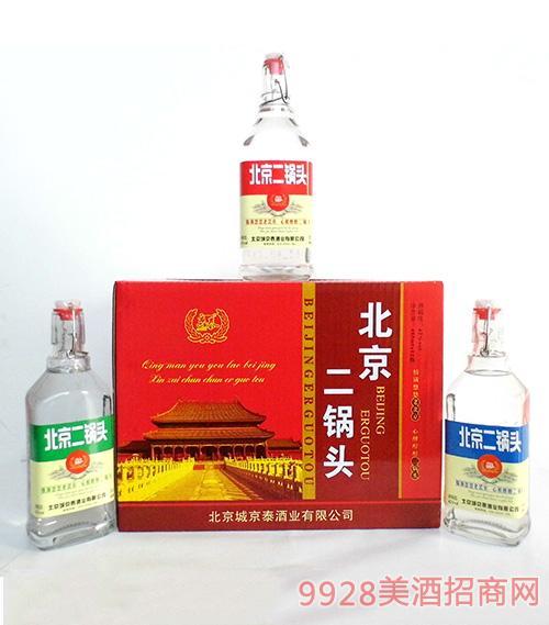 京泰北京二锅头酒42度485mlx12瓶