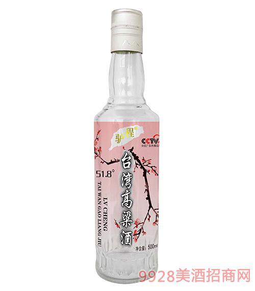 驴程台湾高粱酒51.8度500ml