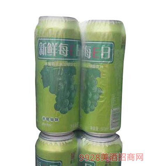 新鮮每E日果啤易拉罐500ml