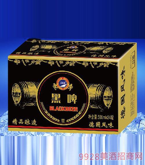 滨海情黑啤(金卡)酒