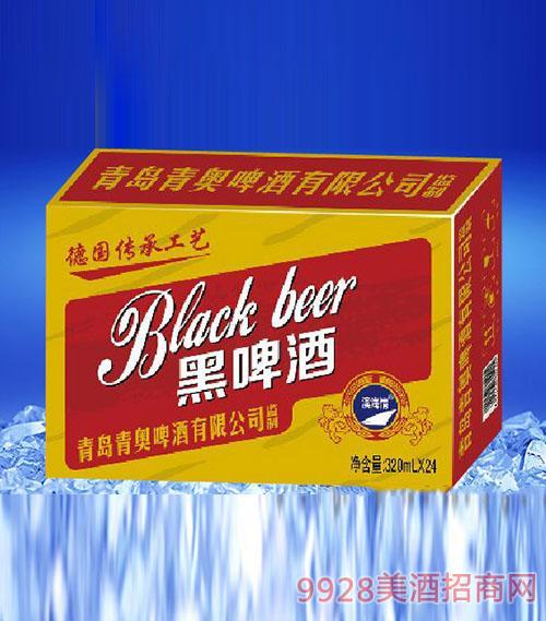 滨海情黑啤酒320ml(金卡)
