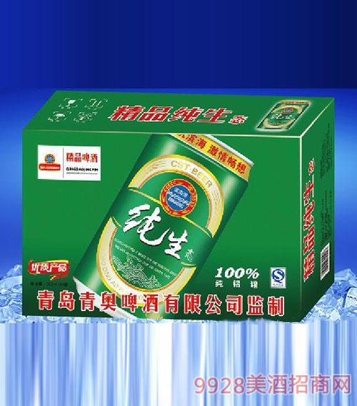 滨海情精品纯生态啤酒