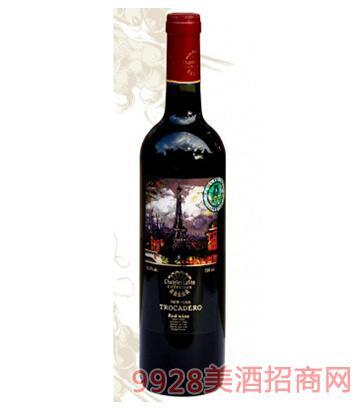 1763福昂克半甜红葡萄酒12.5度750ml