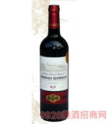 大菲朗古城堡红葡萄酒13度750ml