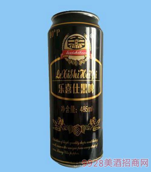 乐喜仕黑啤485ml