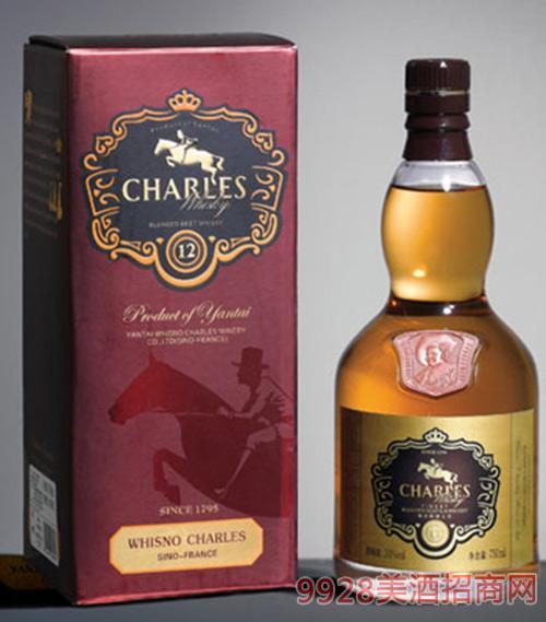 查尔斯威士忌12年