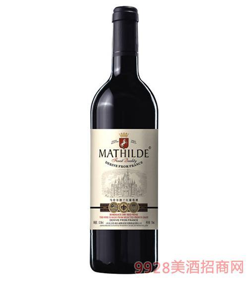 马帝尔德干红葡萄酒白标