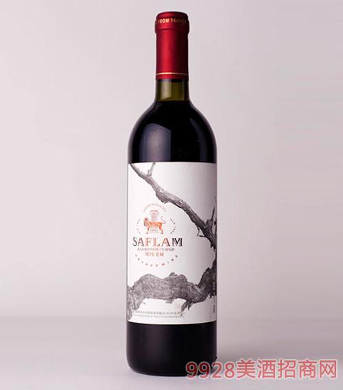 西夫拉姆30年老树干红葡萄酒
