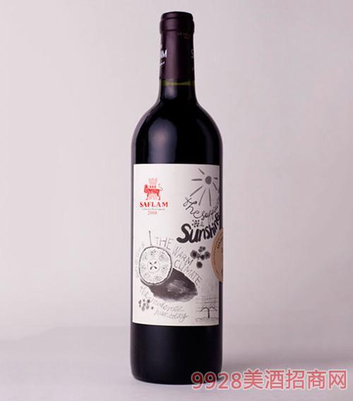 西夫拉姆干红葡萄酒2008