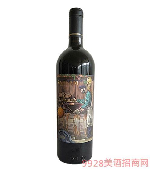 西夫拉姆AOP干红葡萄酒