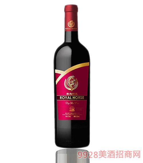 蓉马婚庆逐选级干红葡萄酒红标