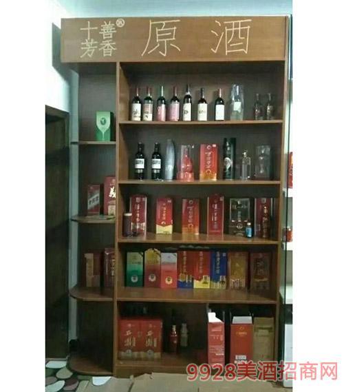 十善芳香原浆酒庄加盟店内效果图