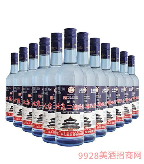 正宗北京二锅头蓝瓶42度500ml