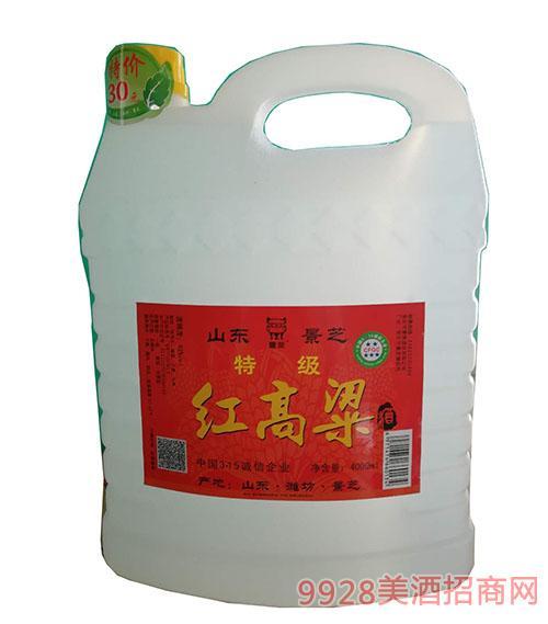 特级红高粱酒(黄盖)4000ml
