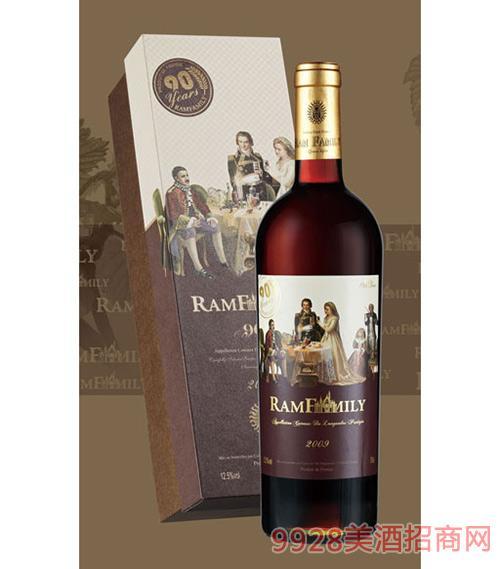 拉姆世家干红葡萄酒2009