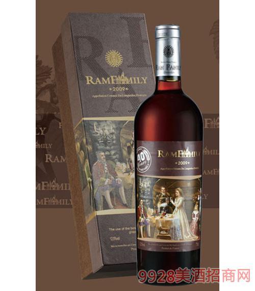 拉姆世家干红葡萄酒40年老树