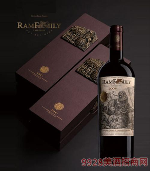 拉姆世家干红葡萄酒礼盒装