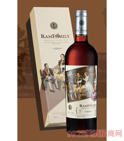 拉姆世家干红葡萄酒30年