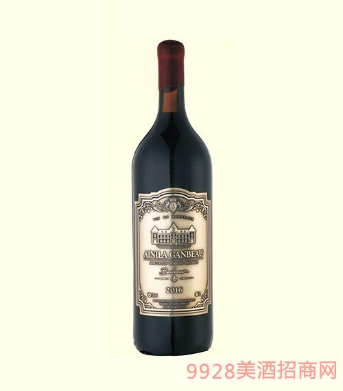 法国波尔多艾尼拉城堡干红葡萄酒(3L)
