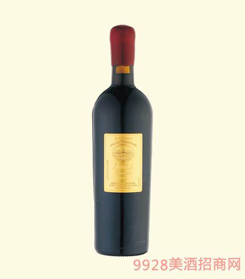 法国波尔多2015艾尼拉城堡干红葡萄酒
