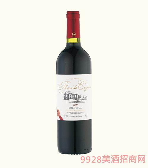 法国波尔多拉古缘纳酒庄2011凯族城堡干红葡萄酒