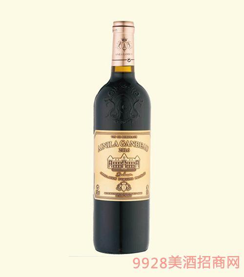 法国波尔多2016艾尼拉城堡干红葡萄酒