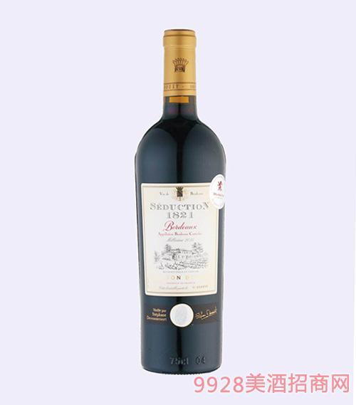 法国波尔多宝悦魅力1821干红葡萄酒