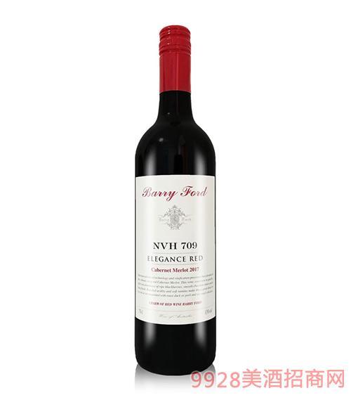澳洲2017奔富NVH709特选干红葡萄酒