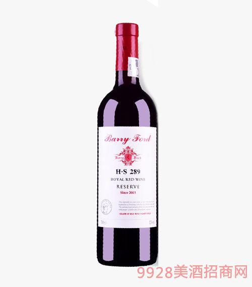 澳洲2011奔富H·S289干红葡萄酒