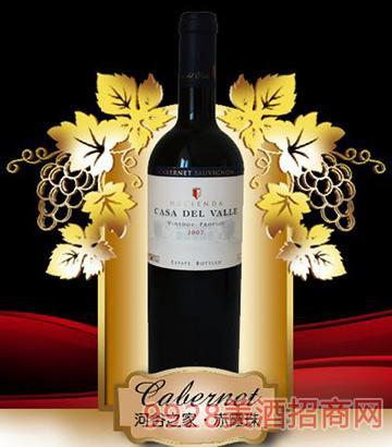河谷之家赤霞珠干红葡萄酒