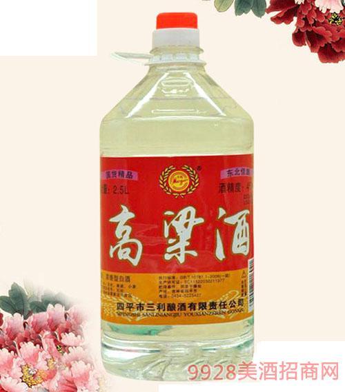 东北佳酿高粱酒45°2.5L