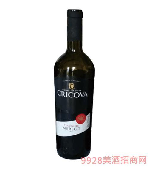 克里科瓦梅洛干红葡萄酒2012