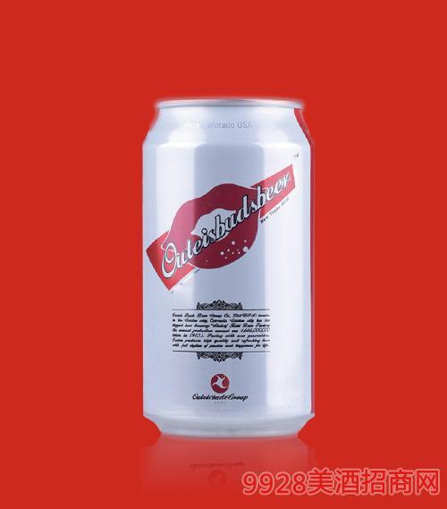 欧特斯啤酒红唇系列罐装320ML
